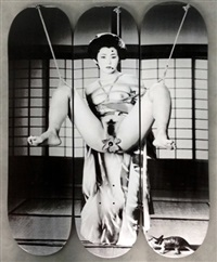 geisha (set of 3) by nobuyoshi araki