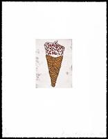 ice cream cone by donald baechler