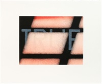 true (from that is right portfolio) by ed ruscha
