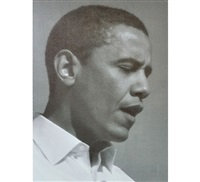 obama by russell young