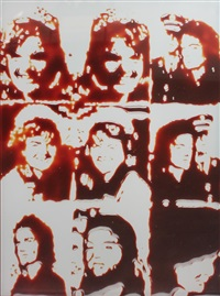 jackie (pictures of chocolate) by vik muniz