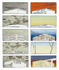 course of empire by ed ruscha