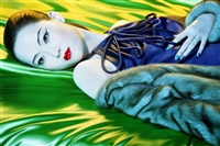 colour story #4 (chinese vogue) by miles aldridge