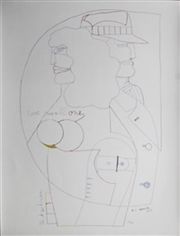 we are all one (from portfolio 9) by richard lindner