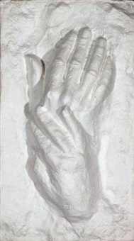 two hands i by george segal