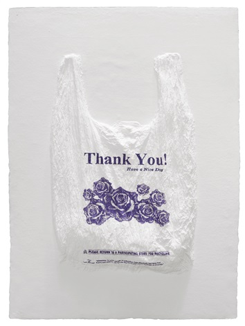 Thank You Have A Nice Day Plastic Bag By Ia Saban
