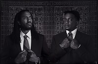 a portrait of two american artists as young negro scholars by rashid johnson and hank willis thomas