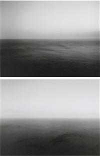 time exposed #305: sea of japan, hokkaido (+ time exposed #307: sea of japan, oki; 2 works) by hiroshi sugimoto