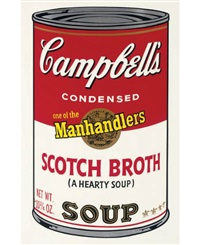 scotch broth (from campbell's soup ii) by andy warhol