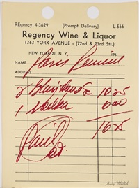 paris review by andy warhol
