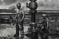 greater buhrman oil field, kuwait by sebastião salgado