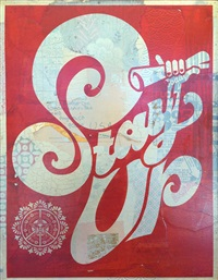 stay up by shepard fairey