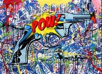 pow! #9 by mr. brainwash