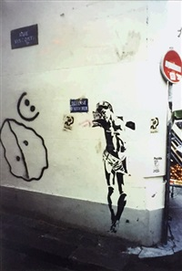 jesus in paris by blek le rat