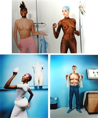surgery story (3 works) by david lachapelle