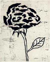 five flowers ii by donald baechler