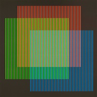 lunes (from serie semana) by carlos cruz-diez