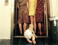 sloth #1 (elevator) by alex prager