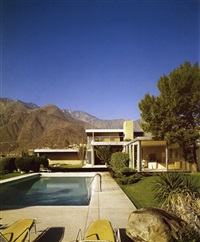 kaufmann house, palm springs, palm springs, california (richard neutra, 1946) by julius shulman