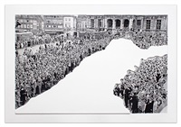 crowds with shape of reason missing: example 1 by john baldessari