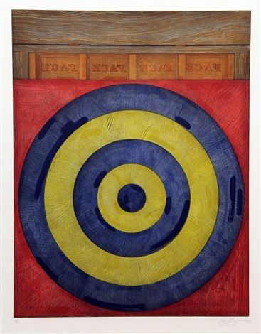 Target with Four Faces by Jasper Johns on artnet