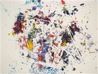 untitled (sf-227s) by sam francis