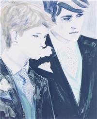 prince william and prince harry by elizabeth peyton