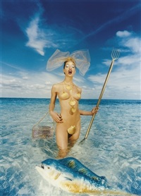 clam on the halfshell by david lachapelle