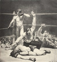 counted out, first stone by george wesley bellows