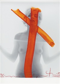 crucifix ii by bert stern
