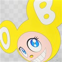 and then x5 (yellow) by takashi murakami