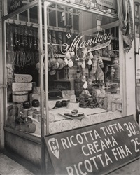 cheese store, 276 bleecker street by berenice abbott