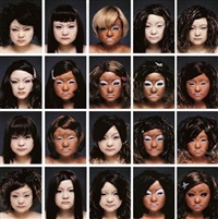 cover/face (in 20 parts) by tomoko sawada
