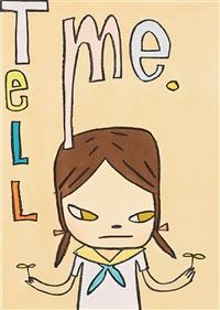 tell me by yoshitomo nara