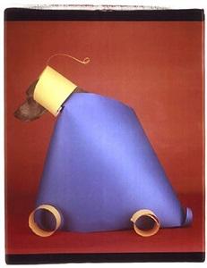 trojan horse toy by william wegman