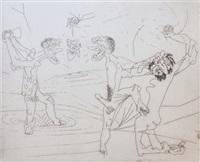 untitled (from new school) by roberto matta