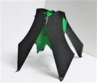 black and green by george sugarman