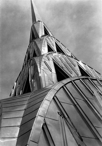 Chrysler Building New York Artist Margaret Bourke White