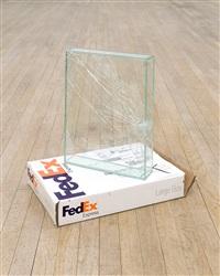 fedex® large box, la to nyc by walead beshty