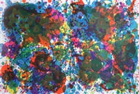 untitled (from fresh air school portfolio) by sam francis