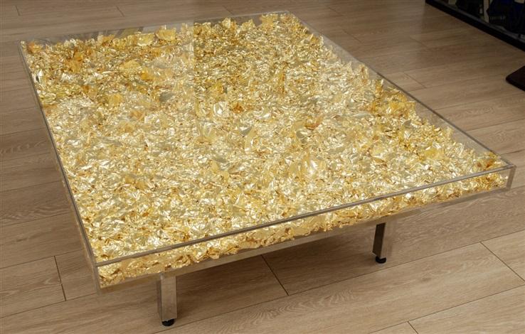 Table Yves Klein 174 Monogold Tm By Yves Klein On Artnet