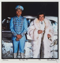 Liberace, Las Vegas, 1981