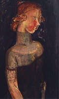 dowager by alfred henry maurer