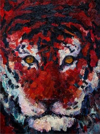 Lining Things Tiger By Liu Ruo