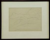 ALPSPITZE #3 (with Zabriskie Gallery Label), 1933