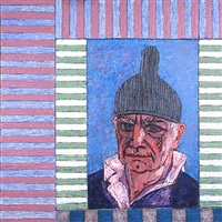 head (with nipple hat) by peter heinemann