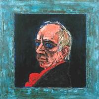 head (red scarf) by peter heinemann