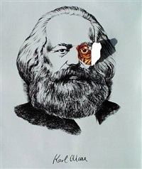 karl marx (from the cuban icon series) by lázaro saavedra gonzález