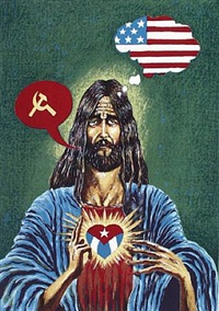 sagrado corazon (from the cuban icon series) by lázaro saavedra gonzález