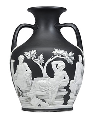 Wedgwood First Edition Numbered Copy Of The Portland Vase On Artnet